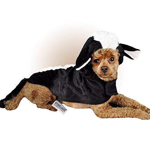 [Otis and Claude Fetching Fashion Skunk Costume MEDIUM] (5 Last Minute Halloween Costumes)