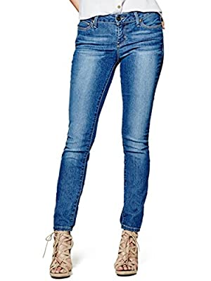 G by GUESS Women's Sienna Curvy Skinny Jeans in Medium Wash