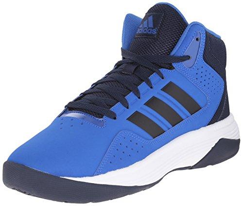adidas Performance Men's Cloudfoam Ilation Mid Basketball Shoe,Blue/Collegiate Navy/White,9 M US (Adidas Shoes Men Blue compare prices)