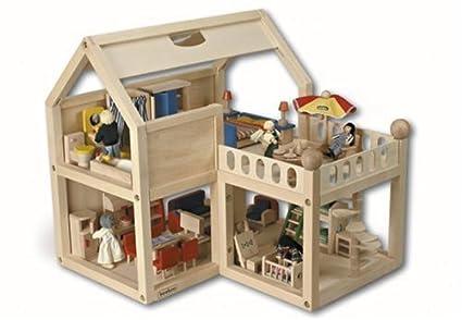 BEEBOO Puppenhaus, ohne Zubehör L 50 x B 51 x H 55 cm (0000047)