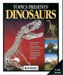 TOPICS ENTERTAINMENT Presents Dinosaurs ( Windows )