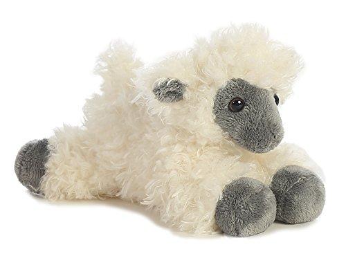 """Black Face Sheep Mini Flopsie 8"""" by Aurora"""