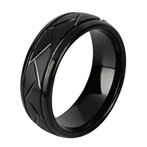 men39s tungsten ring wedding band rg9 amazoncom With amazon men s wedding rings