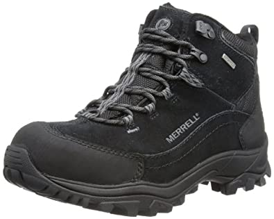 MERRELL Norsehund Omega Mid Waterproof Mens Hiking Boots by Merrell