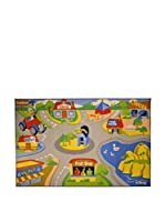 Abc Alfombra Play Rug Disney Donald Multicolor 133 x 200 cm