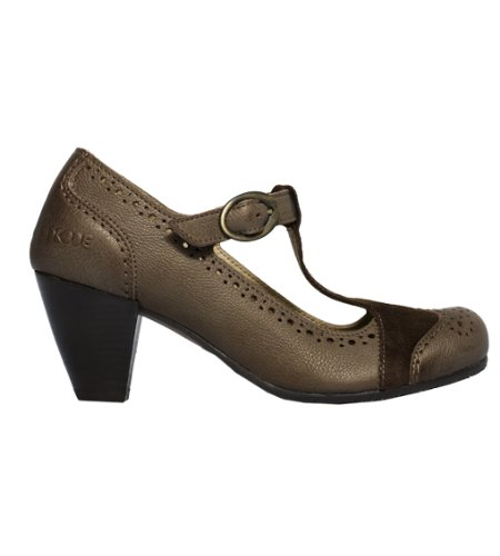 Dkode Women's Oceane Brown Open Toe SS1329752/012 5 UK