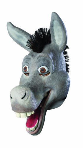 Shrek 3/4 Vinyl Mask, Donkey