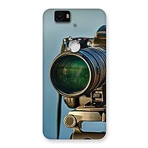 Delighted Huge Camera Multicolor Back Case Cover for Google Nexus-6P