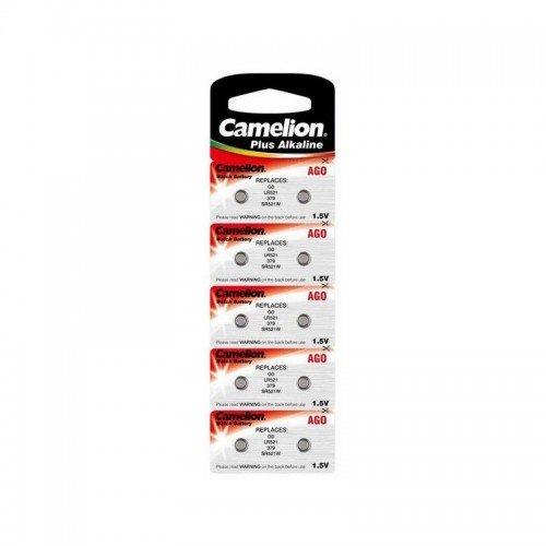 Pack de 10 piles Camelion Alkaline AG0 - 4876