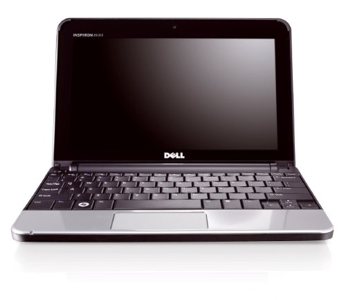 Dell Inspiron mini 10 - Black, Intel Atom Processor Z530 1.6GHz , 1 GB DDR2 , 120GB Sata Hard Drive, 10.1 inch WideScreen Anti Glare Laptop Screen (1024x576), Integrated Webcam, Intel Graphics Media Accelerator 500, Wireless 802.11g Mini Card, Genuine Win