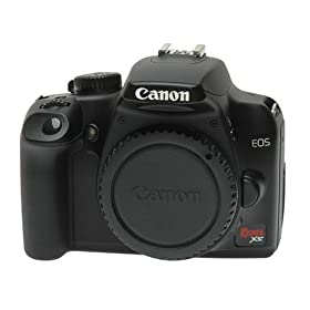 Canon EOS Rebel XS - Digital camera - SLR - 10.1 Mpix - body only - supported memory: SD, SDHC - black