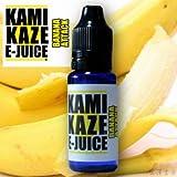 【純国産】KAMIKAZE E-JUICE 15ml 電子タバコ VAPE用リキッドジュース (BANANA ATTACK:バナナアタック, 15ml)