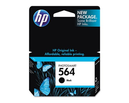 HP PhotoSmart 7520 Black Ink Cartridge (OEM) 250 Pages картридж для принтера hp cz101ae 650 black ink cartridge