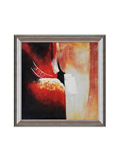 Hand-Painted Spatial Denial Framed Reproduction