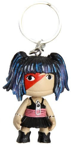 """LittleBigPlanet - Sackboy 2"""" Key Chain - ROCK GIRL by Brazier & Co"""