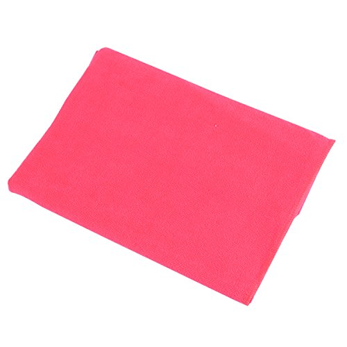 80X140Cm Microfibre Sports Travel Gym Fitness Beach Swim Camping Bath Towel (Deep Pink) front-797497