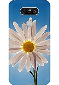 AMEZ designer printed 3d premium high quality back case cover for LG G5 (sunflower)