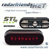 High-End Radarwarner Beltronics STiR PLUS inkl. GPS und POI