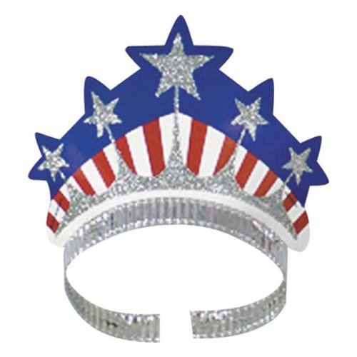 Miss Liberty Tiara Party Accessory (1 count) - 1