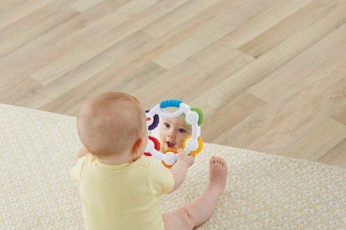 Fisher-Price Shake 'N Beats Tambourine Toy, Kids, Play, Children front-793298