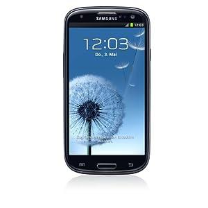Samsung Galaxy S III i9300 Smartphone 16GB (12,2 cm (4,8 Zoll) HD Super-AMOLED-Touchscreen, 8 Megapixel Kamera, Android OS) onyx-schwarz
