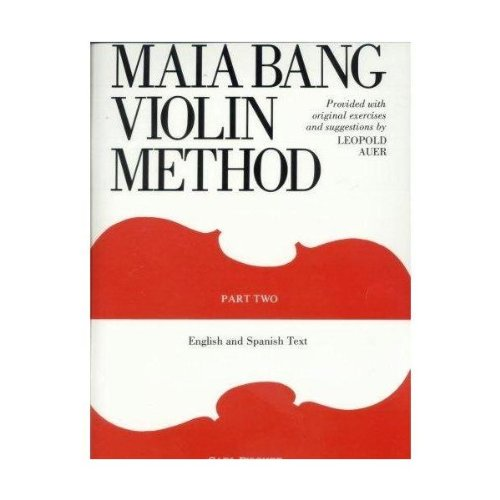 Bang, Maia - Violin Method Book 2 English And Spanish Text - Fischer Edition
