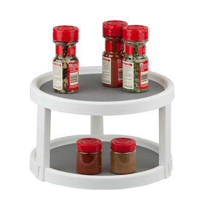 Home Basics Twin Turntable Spice Rack (Turntable Spice Rack compare prices)