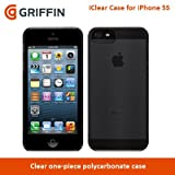 Griffin IClear Hard Back Case Cover For Apple IPhone 5S / 5 - Clear (GB36100)