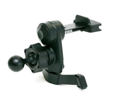 IG-A07: i.Trek Garmin Nuvi air vent mount with metal spring clip (Suitable for both horizontal & vertical AC Vents)