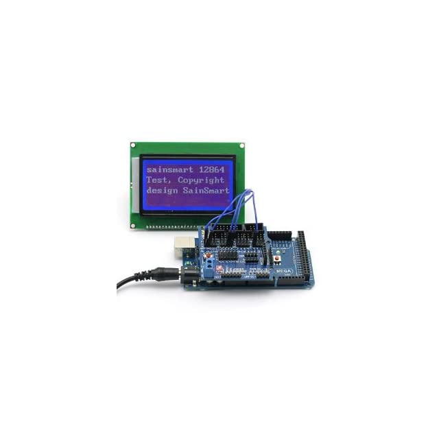 SainSmart C31 Kit with MEGA ATmega2560 + 128x64 Graphic Blue LCD