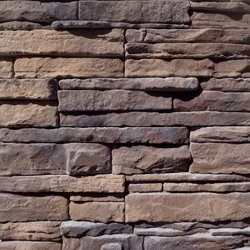 Manufactured Stone Veneer - Quik-Stack Collection Almond Buff / Pack Q