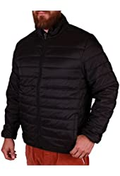 Hawke & Co Men's Packable Thermal-Core Puffer Jacket