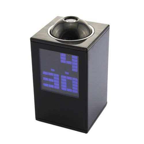 DB Power New model Project Projection Digital Led Alarm Clock Black [Misc.] at Sears.com