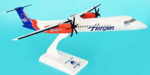 1: 100 スカイマークス Horizon 航空 Dash 8-400 Boise State University Colors (並行輸入)