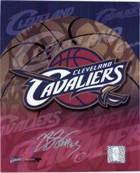 Signed James, Lebron (Cleveland Cavaliers) 8x10 Photo autographed by Powers+Collectibles