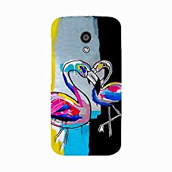 Skintice Designer Back Cover with direct 3D sublimation printing for Moto X3