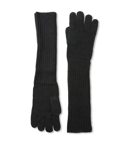 Alicia Adams Alpaca Women's Edwina Gloves, Black