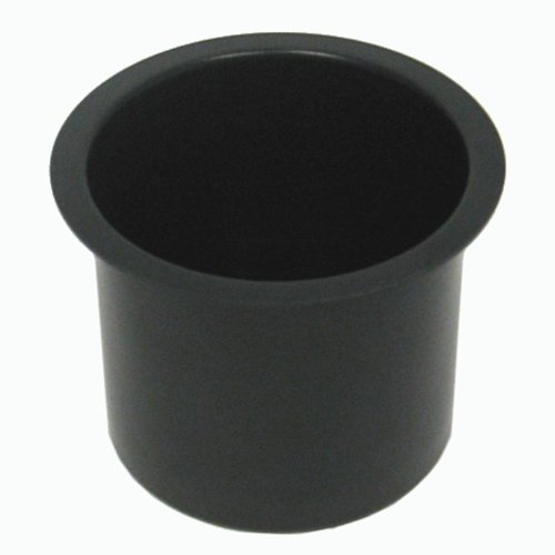 Best Price Trademark Poker Jumbo Aluminum Poker Table Cup Holder (Black)