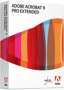 Adobe Acrobat Pro Extended v9, Full Edition (PC)