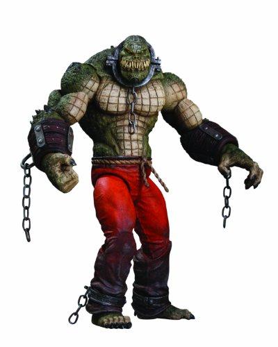 DC Direct Batman: Arkham City: Killer Croc Deluxe Action Figure at Gotham City Store