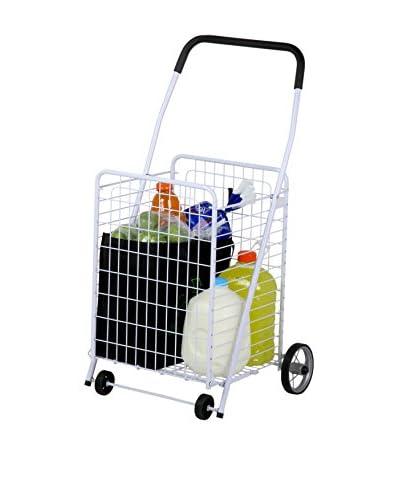 Honey-Can-Do 4-Wheel Utility Cart, White
