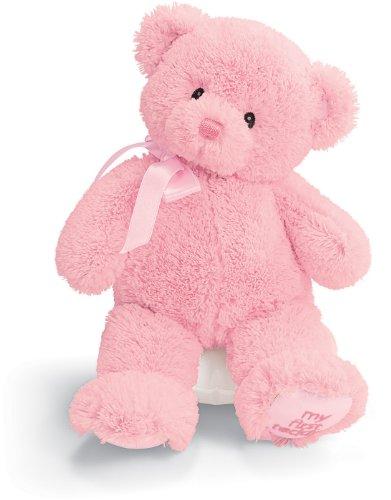 Gund My1st Teddy Pink 10