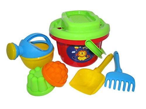 Trampoliere Bucket / Sieve / Spade / Rake / Sabbia Stampi e annaffiatoio (grande)