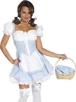 Wizard of Oz - Delectable Dorothy Adult Costume