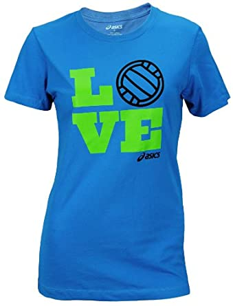 Click here to buy ASICS Ladies Love Volleyball Tee by ASICS.
