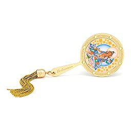 2016 Years of the Monkey Chines Feng Shui Mirror Yellow Tara Mirror for Increasing Prosperity and Abundance