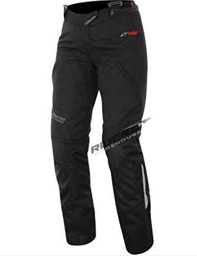 Alpinestars Andes Women's Sports Bike Motorcycle Pants - Black / Size Small