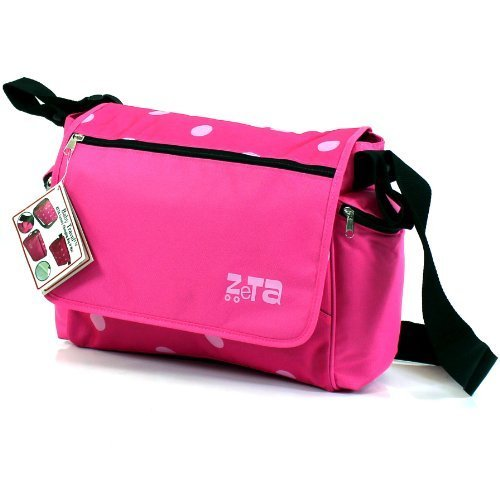 zeta-luxury-complete-changing-bag-with-changing-mat-pink-dots-large-by-zeta