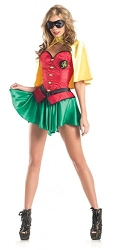 Costume Adventure Women's Sexy Robin Costume Robin Batman Costume