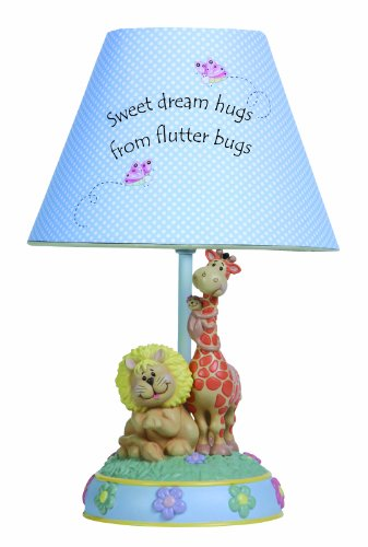 Precious Moments Sweet Dream Hugs from Flutter Bugs Tabletop Lamp Figurine